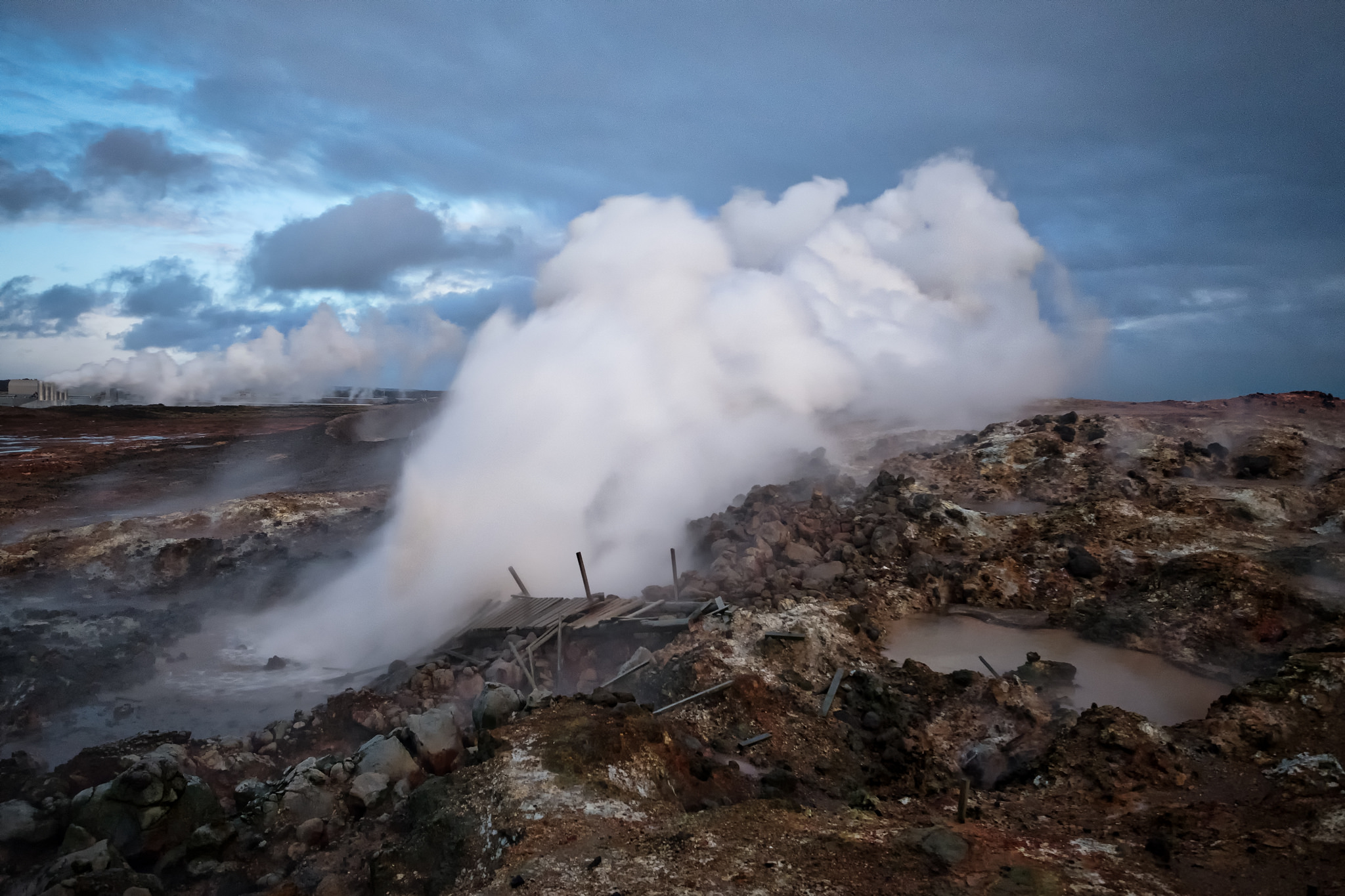 A geothermal area in Iceland (Source: guidetoiceland.is)